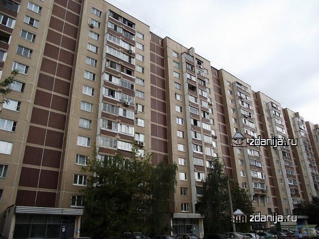 Москва, Рублевское шоссе, дом 18, корпус 1, Серия П-55 (ЗАО, район Кунцево)