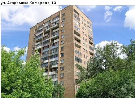 Москва, улица Академика Комарова, дом 13, Башня Вулыха (СВАО, район Марфино)