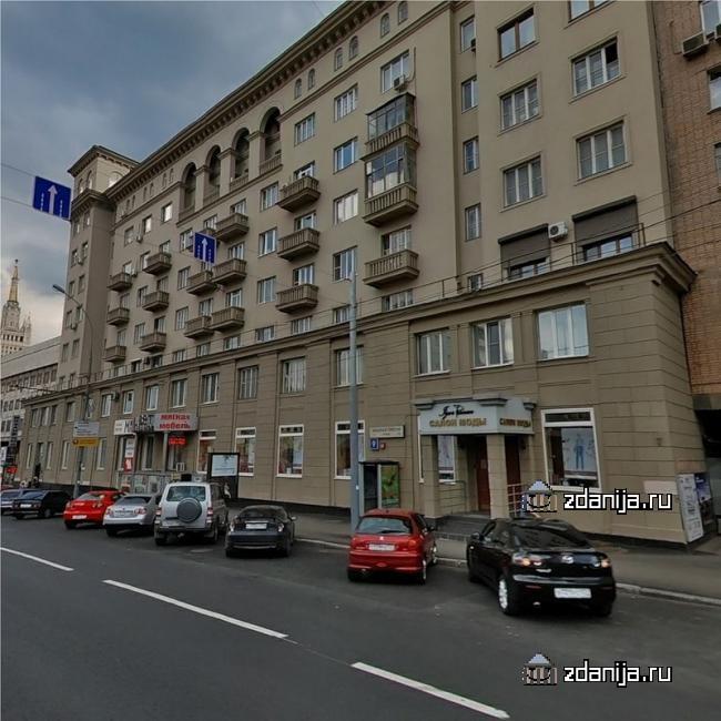 Москва, улица Красная Пресня, дом 9 (ЦАО, район Пресненский)