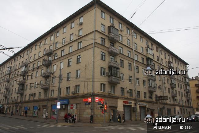 Москва, улица Верхняя Масловка, дом 21 (САО, район Аэропорт)