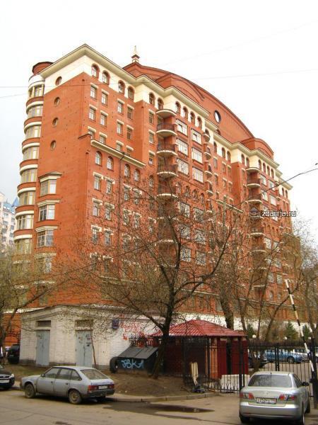 Москва, улица Маршала Новикова, дом 12, корпус 2 (СЗАО, район Щукино)