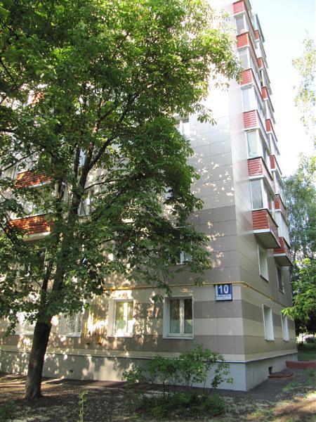 Москва, улица Комдива Орлова, дом 10, Серия II-18-01-МН (СВАО, район Марфино)