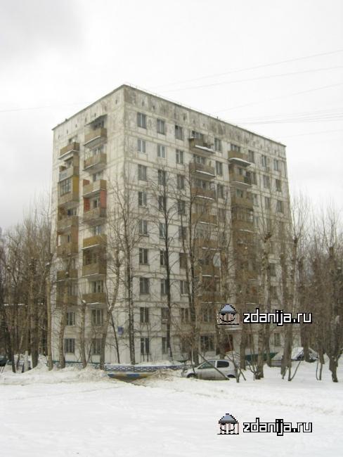 Москва, Малая Юшуньская улица, дом 6, корпус 3, Серия II-18-01-МН (ЮЗАО, район Зюзино)