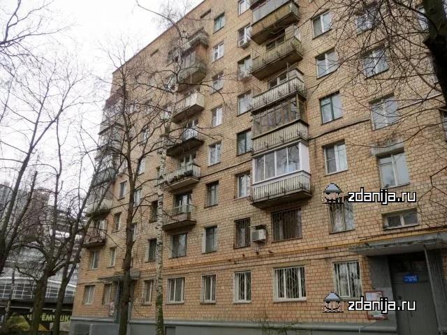 Москва, Ломоносовский проспект, дом 3, корпус 1 (ЮЗАО, район Гагаринский)
