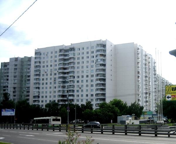 Москва, Можайское шоссе, дом 29, Серия - П-3 (ЗАО, район Можайский)