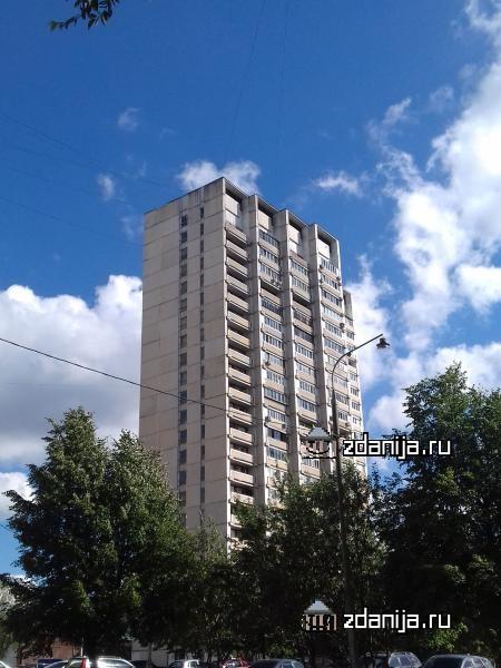 Москва, улица Лобачевского, дом 94, Серия И-700А (ЗАО, район Раменки)