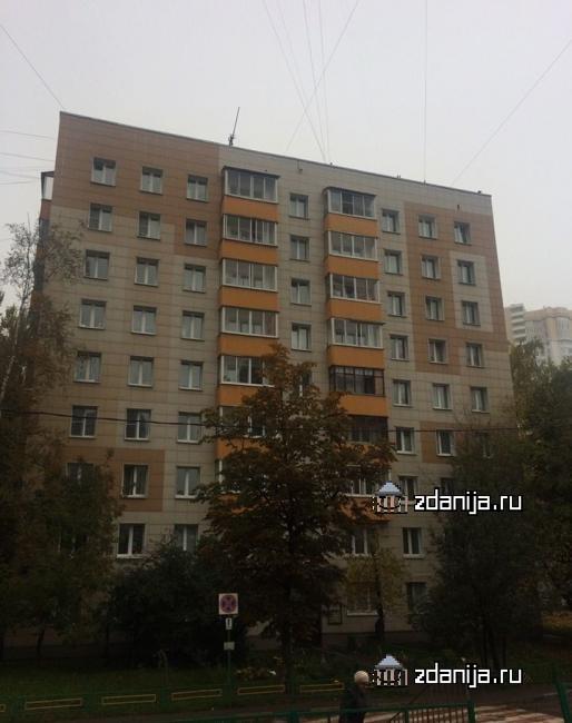 Москва, Рублевское шоссе, дом 101, корпус 3, Серия II-18-01,02,03/09 (ЗАО, район Кунцево)