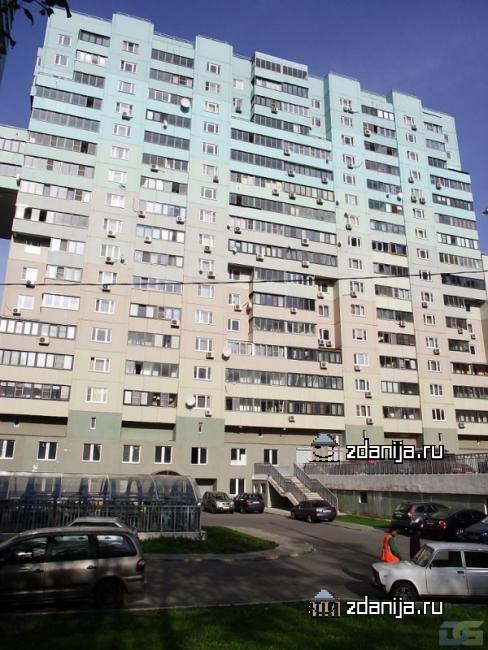 Москва, улица Академика Пилюгина, дом 4, Серия И-155 (ЮЗАО, район Ломоносовский)