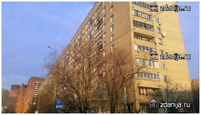 Москва, улица Крутицкий Вал, дом 3, корпус 2, Серия II-66 (ЮВАО, район Южнопортовый)