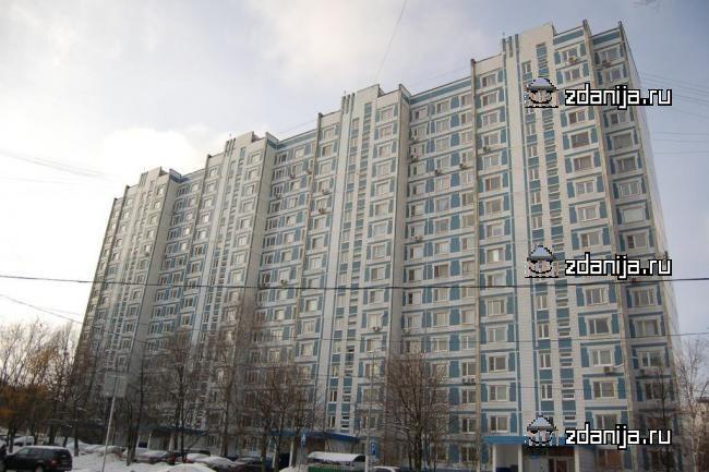 Москва, улица Теплый Стан, дом 25, корпус 1, Серия П-44 (ЮЗАО, район Теплый Стан)