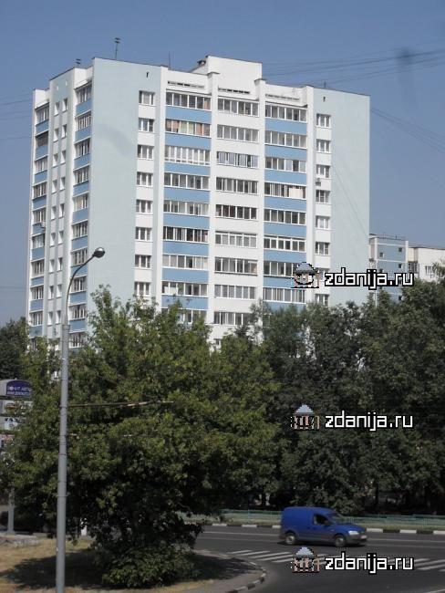 Москва, Перовская улица, дом 75 (ВАО, район Новогиреево)