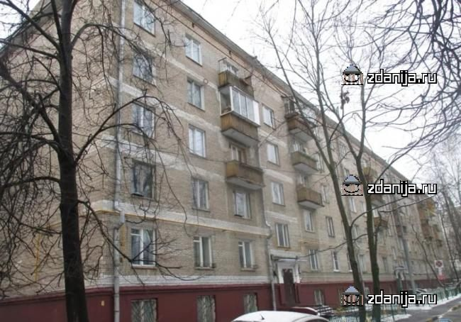 Москва, улица Герасима Курина, дом 8, корпус 1 (ЗАО, район Фили-Давыдково)