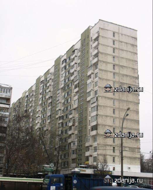 Москва, проспект Вернадского, дом 113 (ЗАО, район Тропарево-Никулино)