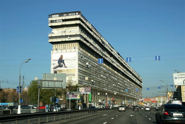 Москва, Большая Тульская улица, дом 2 (ЮАО, район Даниловский)