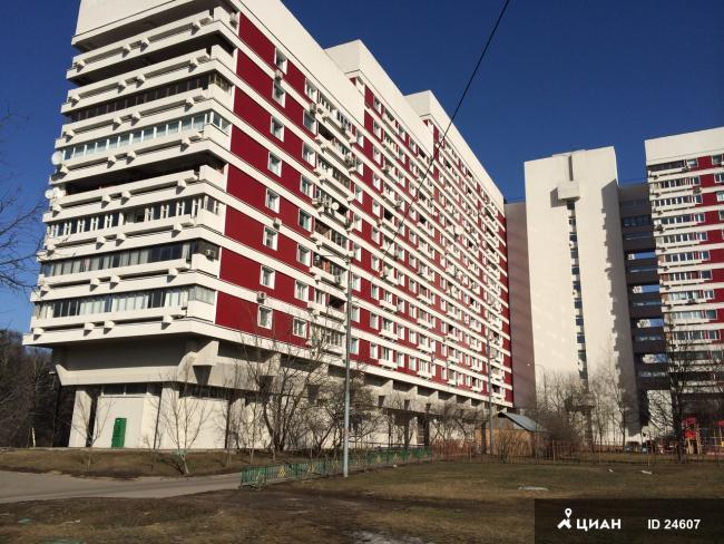 Москва, Осенняя улица, дом 4, корпус 1 (ЗАО, район Крылатское)