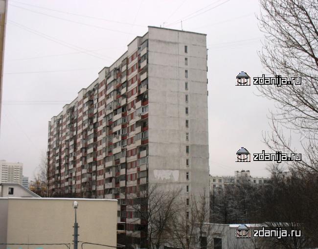 Москва, проспект Вернадского, дом 125 (ЗАО, район Тропарево-Никулино)