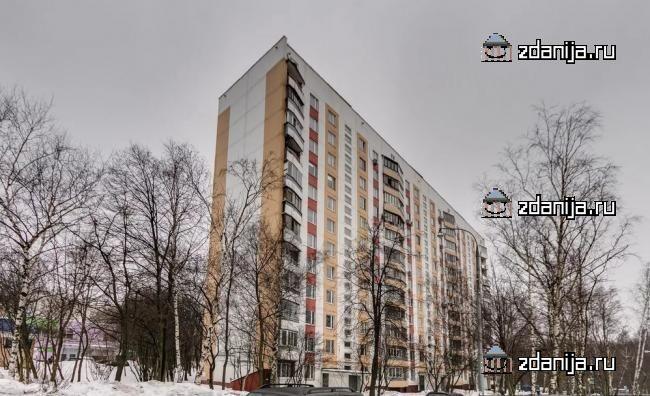 Москва, улица Теплый Стан, дом 1, Серия II-57-А/12 (ЮЗАО, район Теплый Стан)