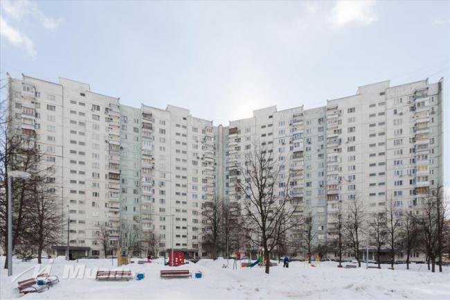 Москва, улица Академика Анохина, дом 26, корпус 2, Серия - П-3 (ЗАО, район Тропарево-Никулино)
