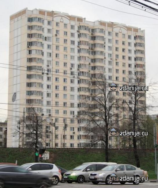 Москва, Большая Тульская улица, дом 56, Серия п3м (ЮАО, район Донской)