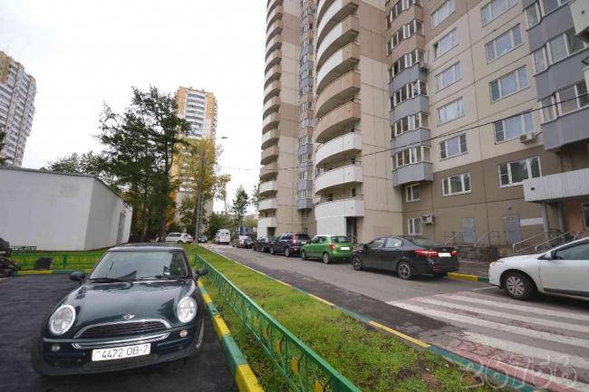 Москва, Кастанаевская улица, дом 45, корпус 1 (ЗАО, район Фили-Давыдково)