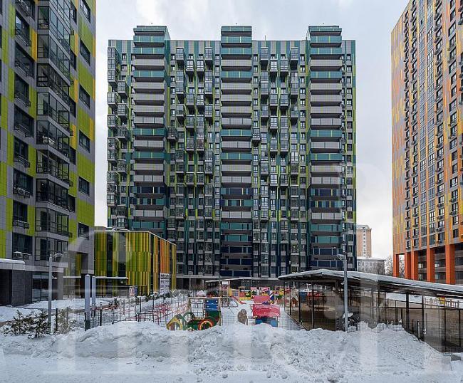 Москва, Береговой проезд, дом 5, корпус 2 (ЗАО, район Филевский Парк)