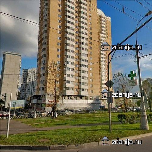 Москва, Ярославское шоссе, дом 122, корпус 1 (СВАО, район Ярославский)