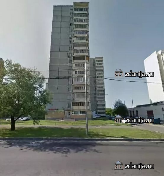 Москва, улица Академика Анохина, дом 46, корпус 1, Серия II-68 (ЗАО, район Тропарево-Никулино)