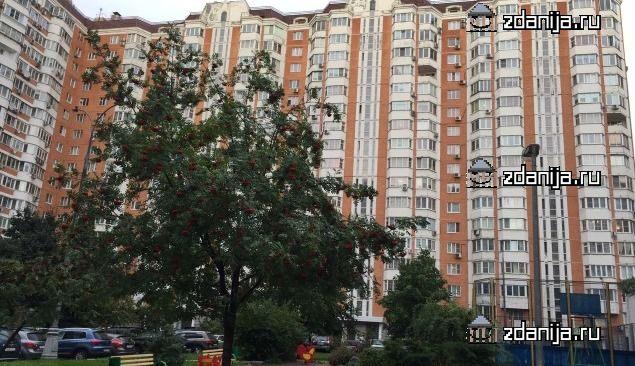 Москва, улица Академика Анохина, дом 5, корпус 3, Серия П-44т (ЗАО, район Тропарево-Никулино)