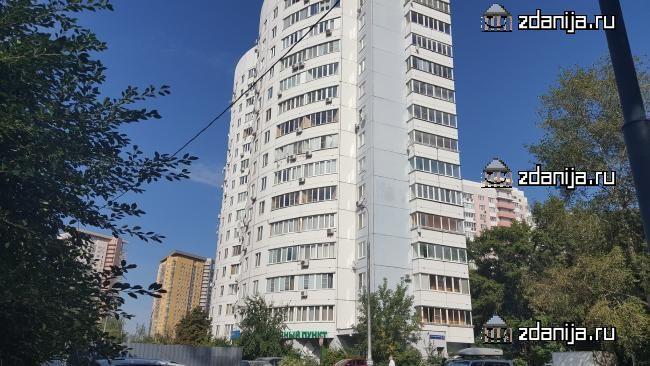 Москва, улица Академика Анохина, дом 4, корпус 2 (ЗАО, район Тропарево-Никулино)