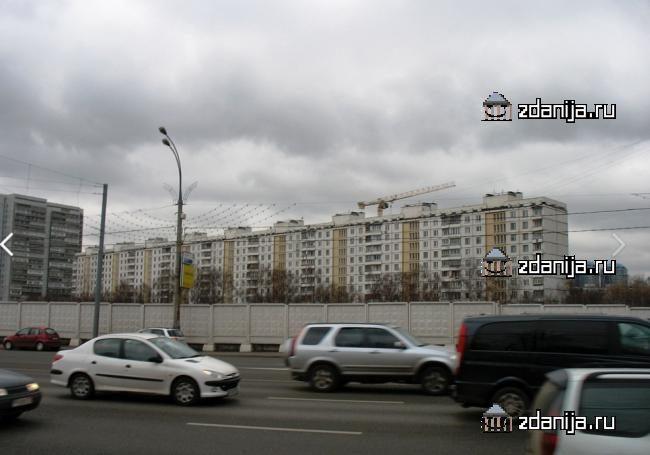 Москва, Славянский бульвар, дом 1 (ЗАО, район Фили-Давыдково)