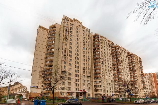 Москва, улица Академика Анохина, дом 7, Серия п3м (ЗАО, район Тропарево-Никулино)