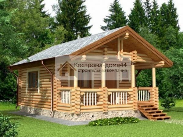 СК «Кострома-дома44» - услуги по строительству домов из бревна и бруса