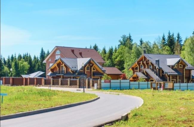 Коттеджный поселок «Цветочный», деревня Поляны, Московская область, Троицкий административный округ