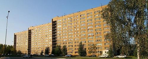 Общежитие серии Э92-1-2, кирпич, Тольятти
