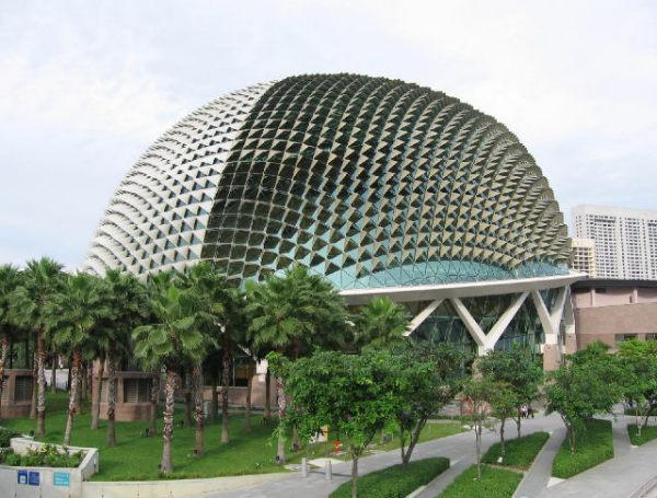 Сингапур, театр Эспланада