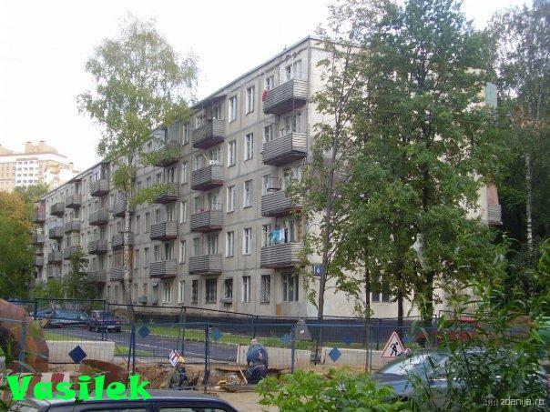 Дома серии 1605-АМ/5 c планировками квартир
