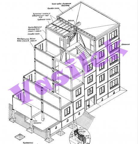 Дома серии К-7, планировки квартир с рамерами