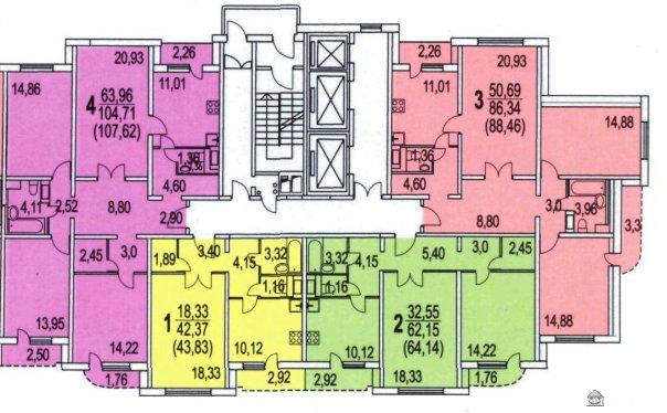 дом серии П-3М-7/23