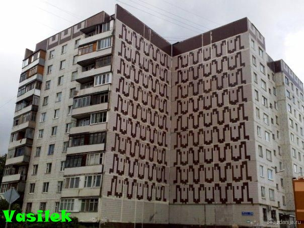 Дома серии 121 (т.п. 014, 016, 017), планировки квартир с размерами