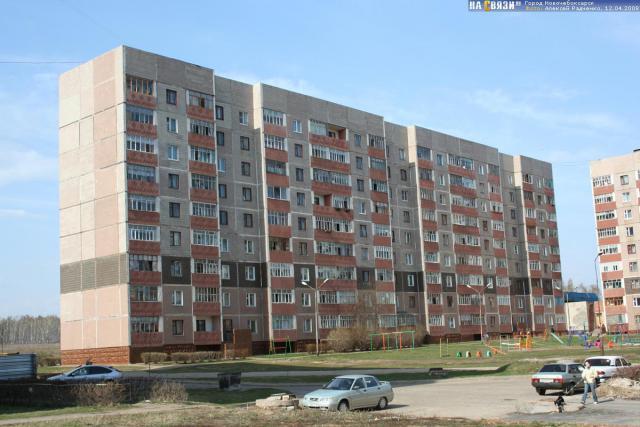 Новочебоксарск, Воинов-Интернационалистов, 39 (со двора)