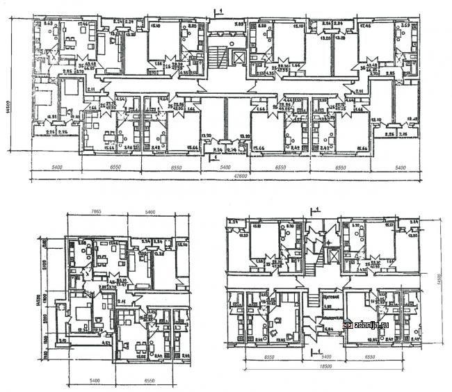 Серия 86, на основе типового проекта 86-025/1.2 (отр.адм.)