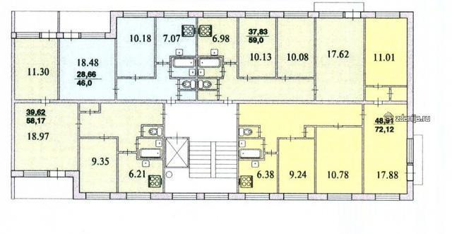 Серия 1Лг-504Д + планировки квартир ( отр.адм.) Помогите в определении серии панельного дома 12 этажей. Питер