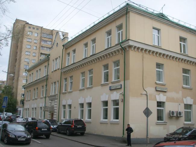 Москва, Малый Тишинский переулок, дом 23 к1.