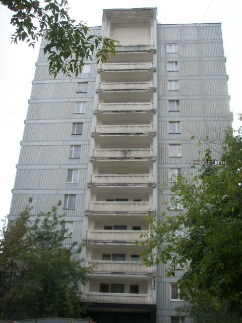 Москва, Средний Тишинский переулок, дом 16, Серия II-68, ЦАО, Пресненский