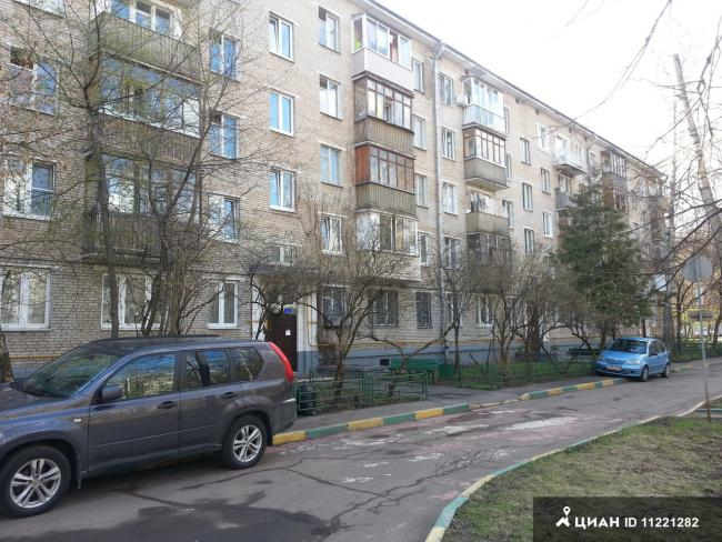Москва, Павлова Академика., дом 14, ЗАО, район Кунцево, информация о доме