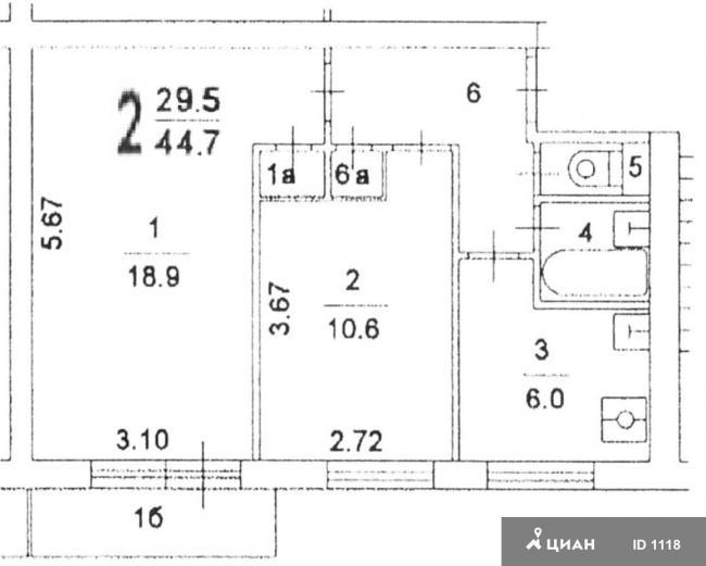 Москва, Петрозаводская ул., дом 9, корп.1, САО, район Ховрино, Серия I-515, информация о доме