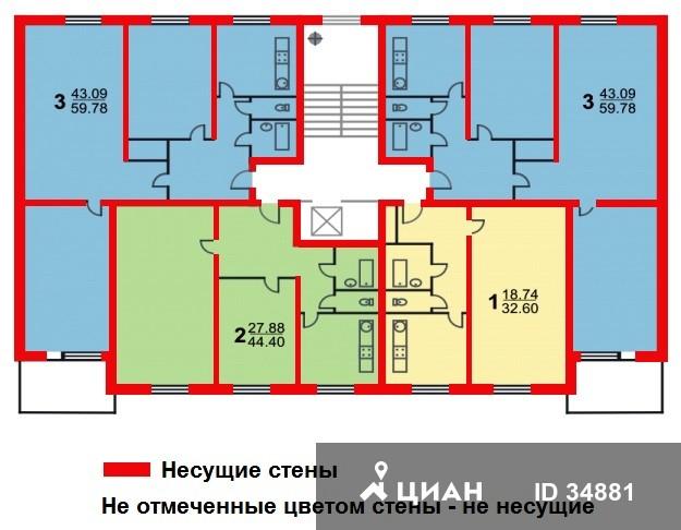 Москва, Новочеркасский бульв., дом 1, ЮВАО, район Марьино, Серия II-49Д, информация о доме