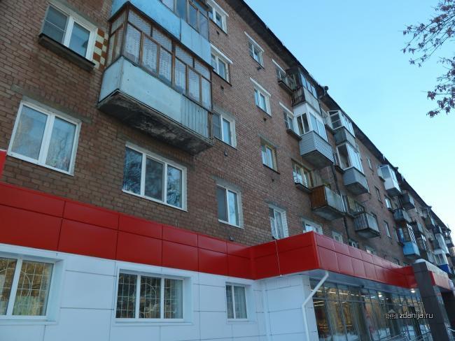Серия 1-447 (отр. адм.) Ярославль, Кирпичная пятиэтажка