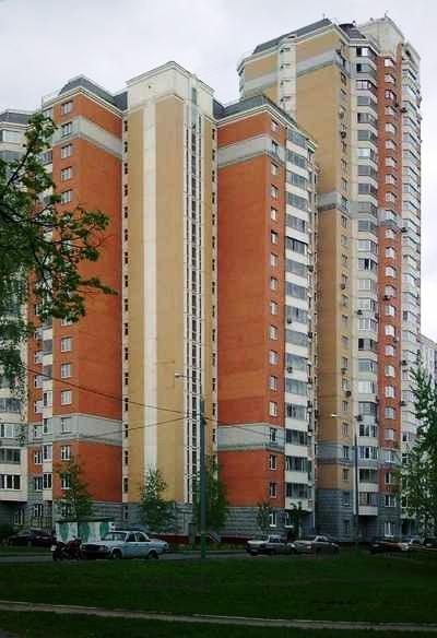 Москва, Студёный проезд, дом 2, корпус 1, Серия П-44т (СВАО, район Северное Медведково)