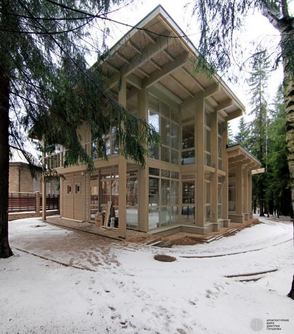 Красивые фасады коттеджей фото от 500 м2 с остеклением